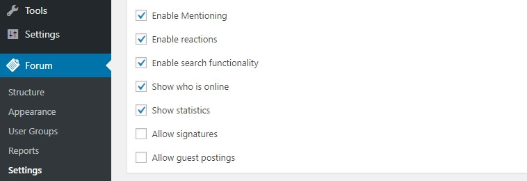 Enabling guest posting on your WordPress forum.