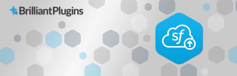 Screenshot of Salesforce's CRM plugin banner