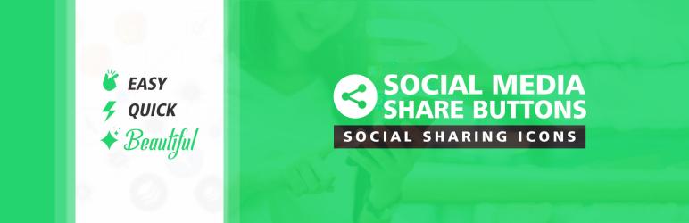 Social Media Share Buttons WordPress Social Media plugin