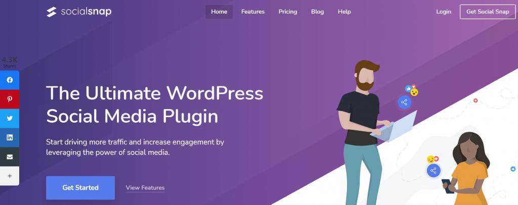 Social Snap WordPress Social Media plugin