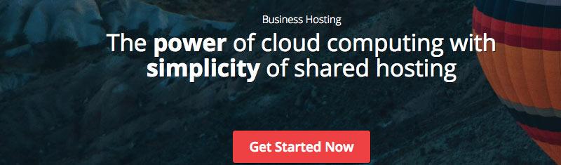 Start a blog on cloud hosting