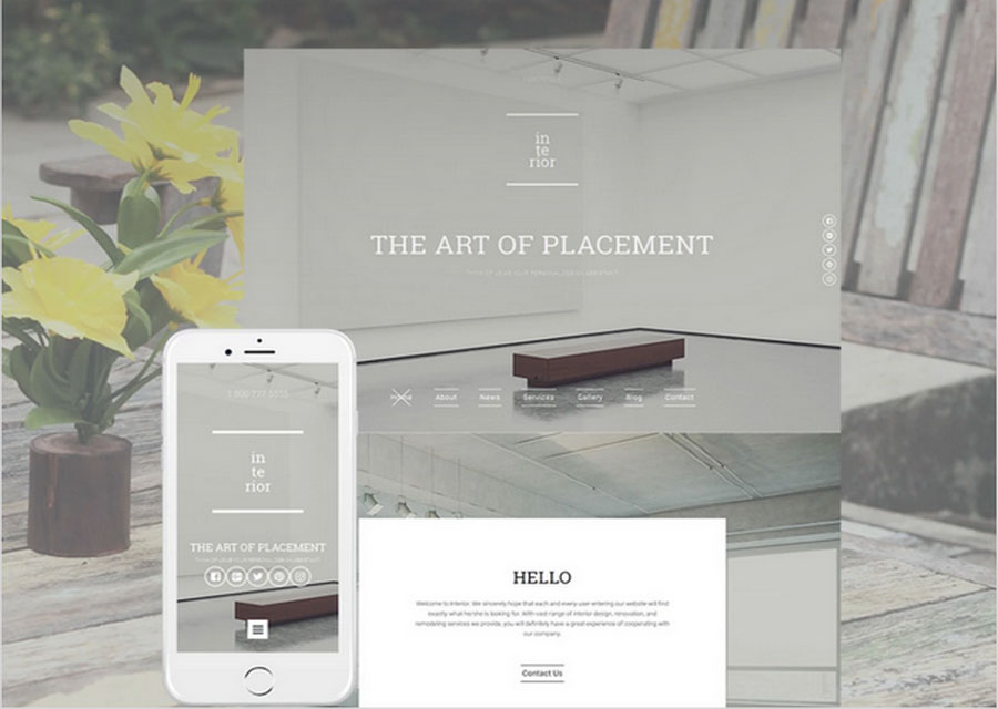 Website builder template 15