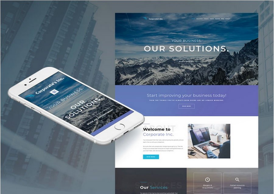 Website builder template 16