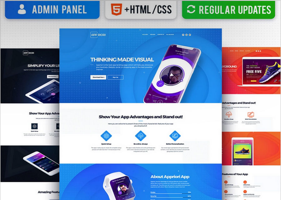 Website builder template 19