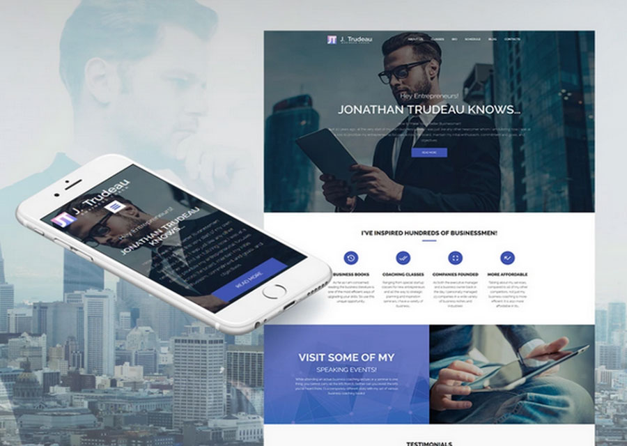 Website builder template 23