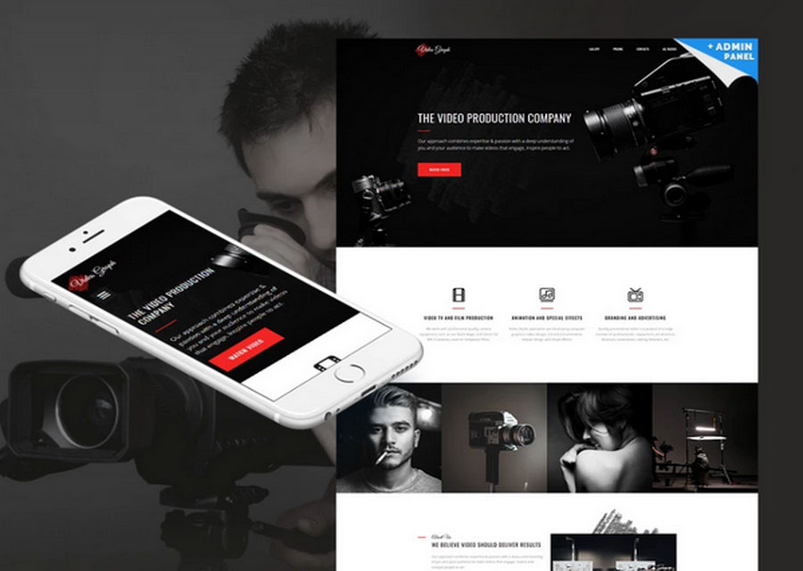 Website builder template 25
