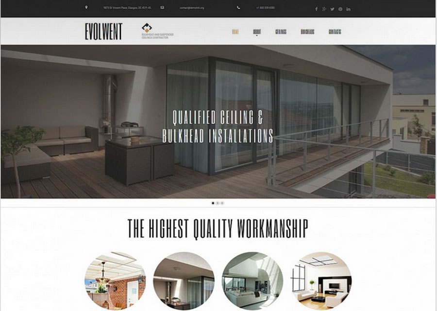 Website builder template 26