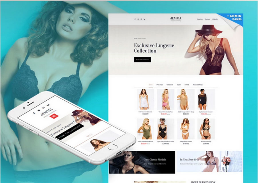 Website builder template 38