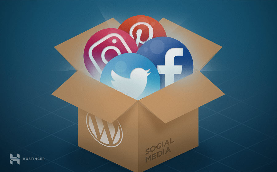 WordPress social media