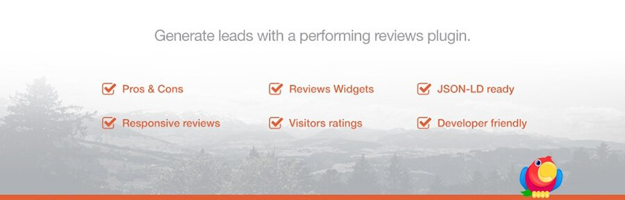 The WP Product Review Lite plugin.