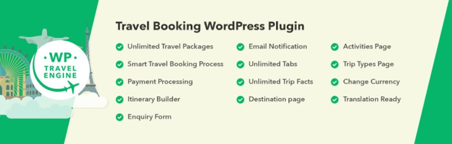 The WP Travel Engine plugin.