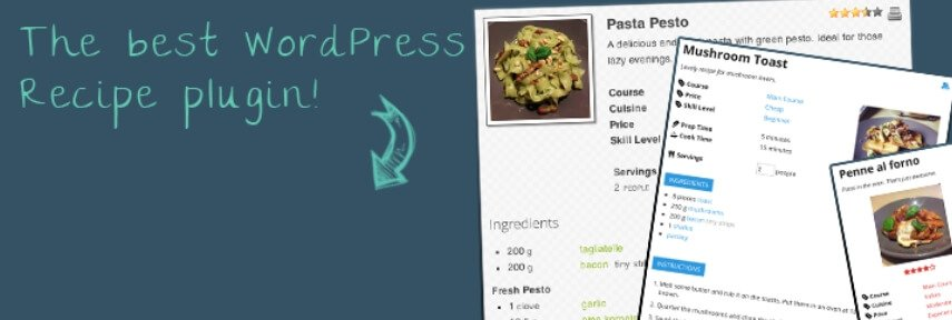 The WP Ultimate Recipe plugin.