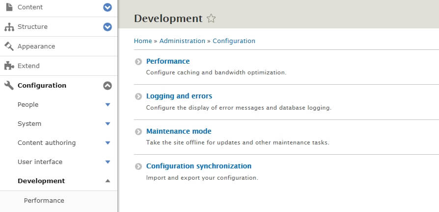 Your Drupal settings.