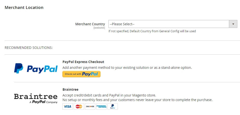 Configuring your Magento payment methods.