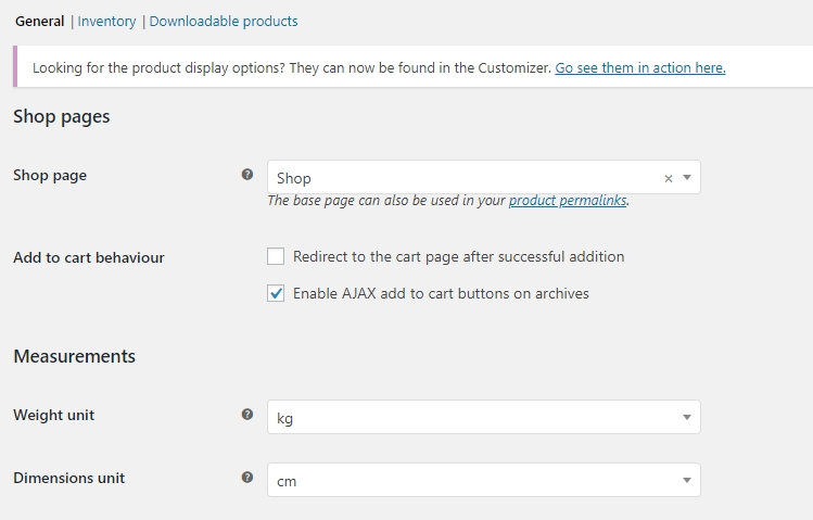 Configuring your WooCommerce product options.
