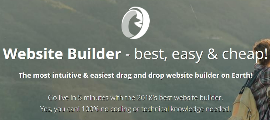 Hostinger's website builder.