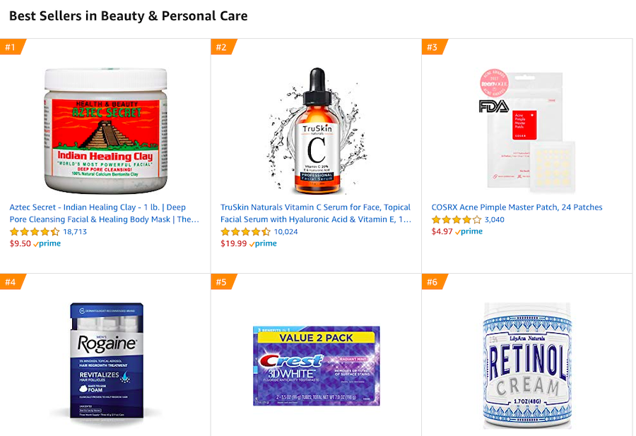 amazon bestselling products