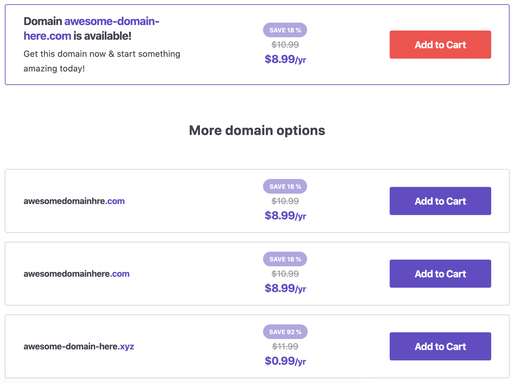 service to check domain name for your website