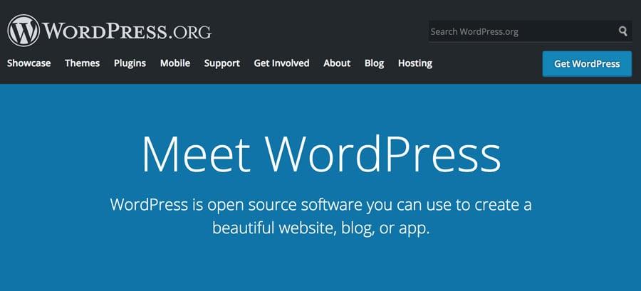 WordPress.com Home Page