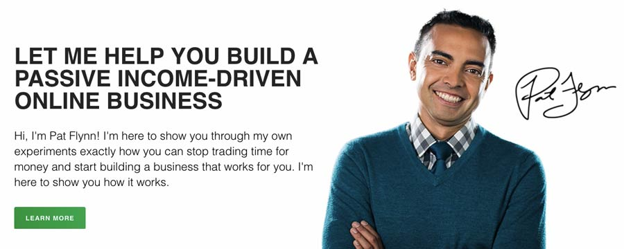 Exemplo do site de marketing de afiliados: Renda passiva inteligente
