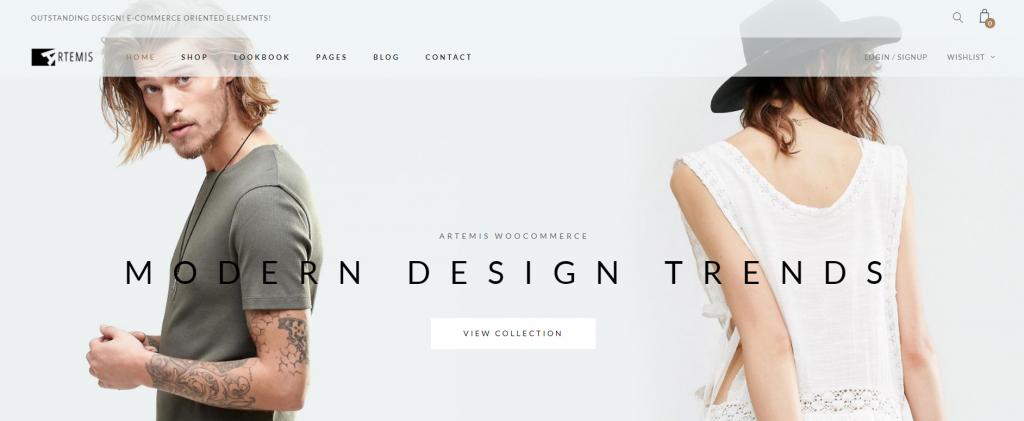 Artemis WordPress eCommerce Theme