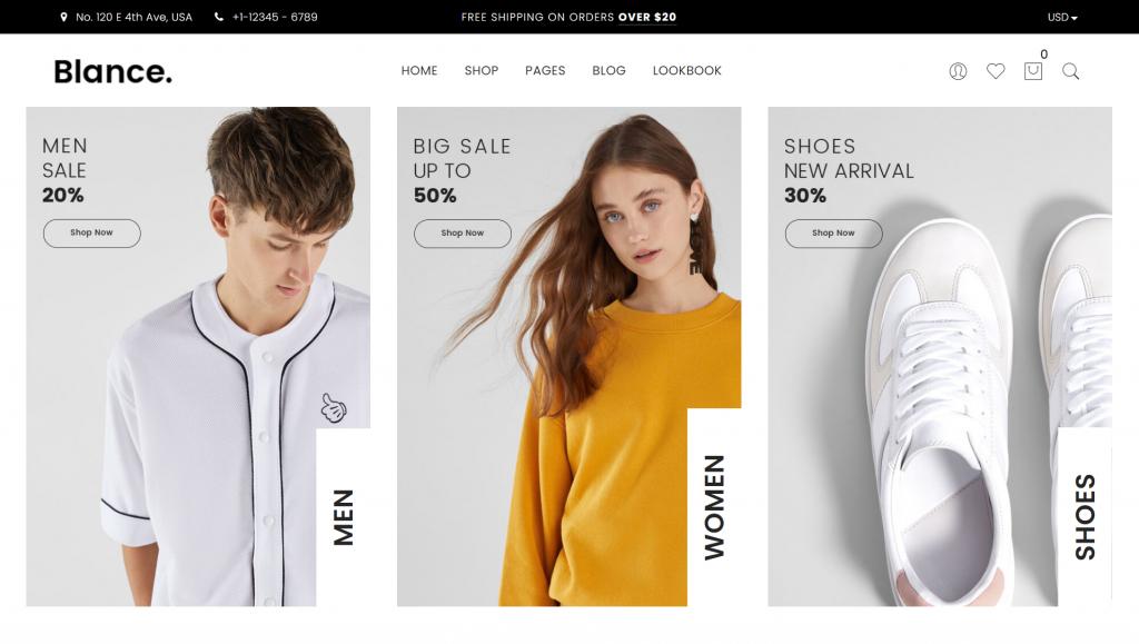 Blance WordPress eCommerce Theme