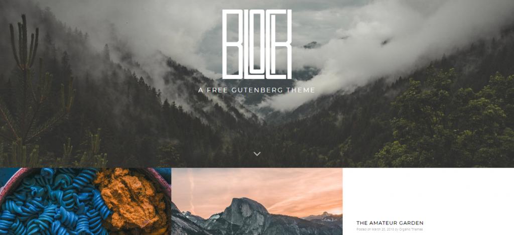 Block Lite Free WordPress Blog Theme