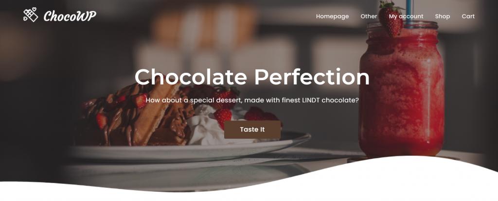 ChocoWP WordPress eCommerce Theme