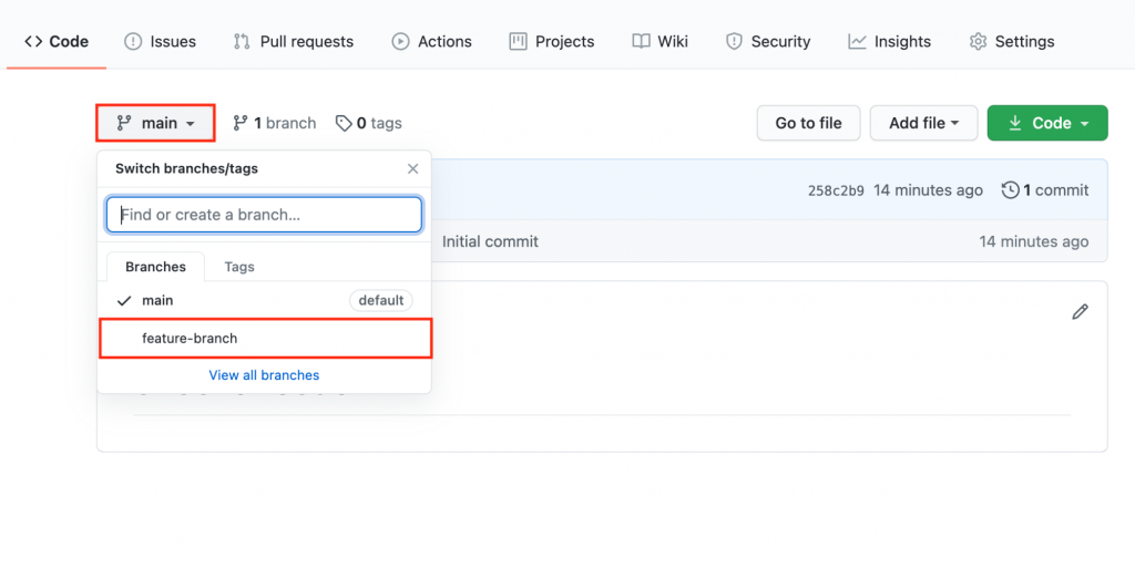 Committing Changes in Github