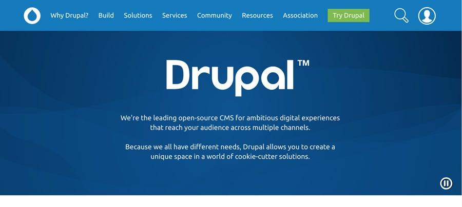 Drupal主页