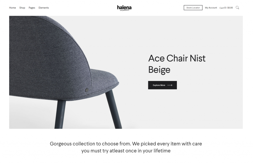 Halena WordPress eCommerce Theme