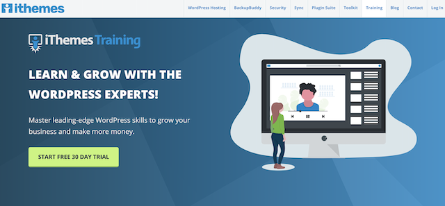 iThemes platform for learning WordPress