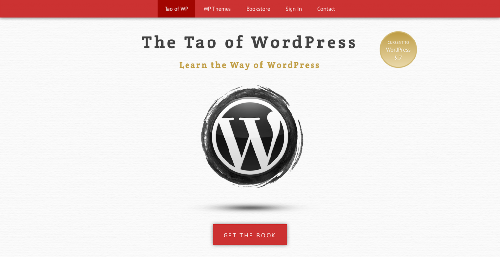 The Tao of WordPress platform for learning WordPress