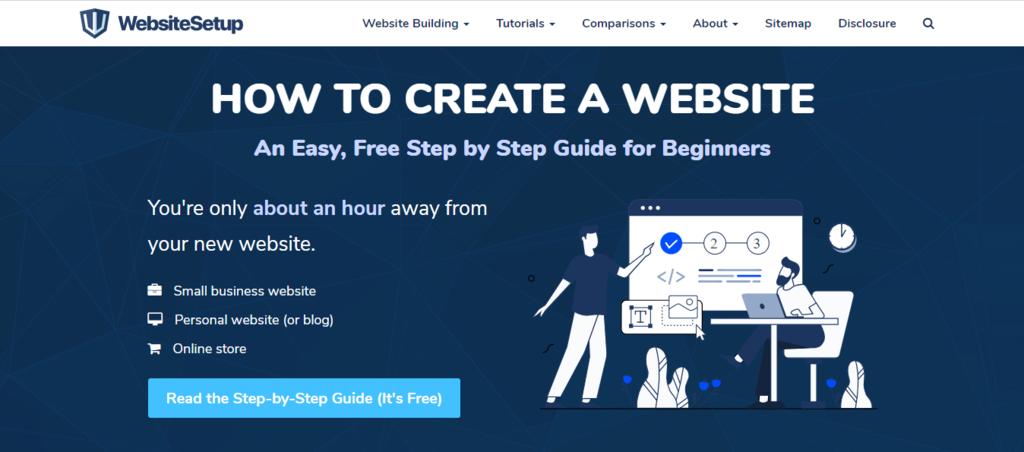 Website Setup platform for learning WordPress