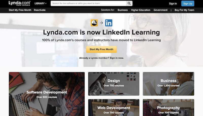 lynda wordpress learning website