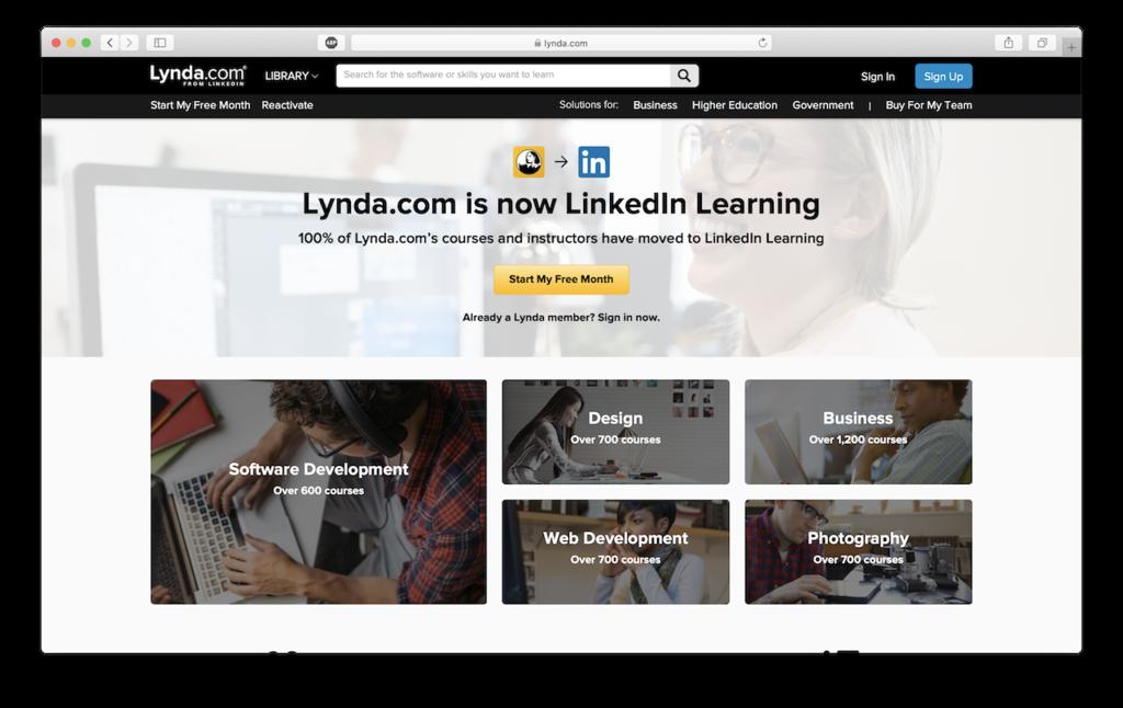 lynda come site to help users use wordpress