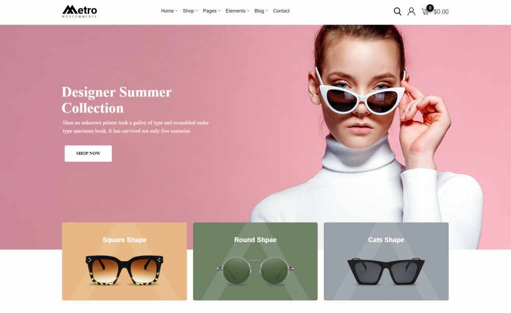 Metro WordPress eCommerce Theme