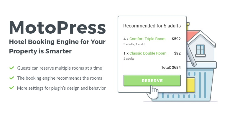 motopress hotel wordpress booking plugin