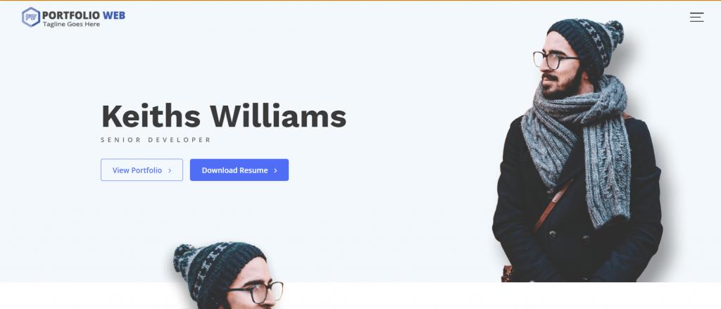 Portfolio WebWordpress portfolio theme