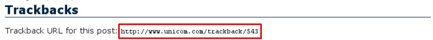 trackback URL