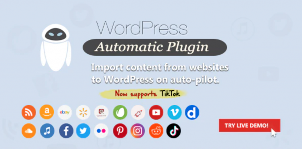 WordPress Automatic Plugin for RSS