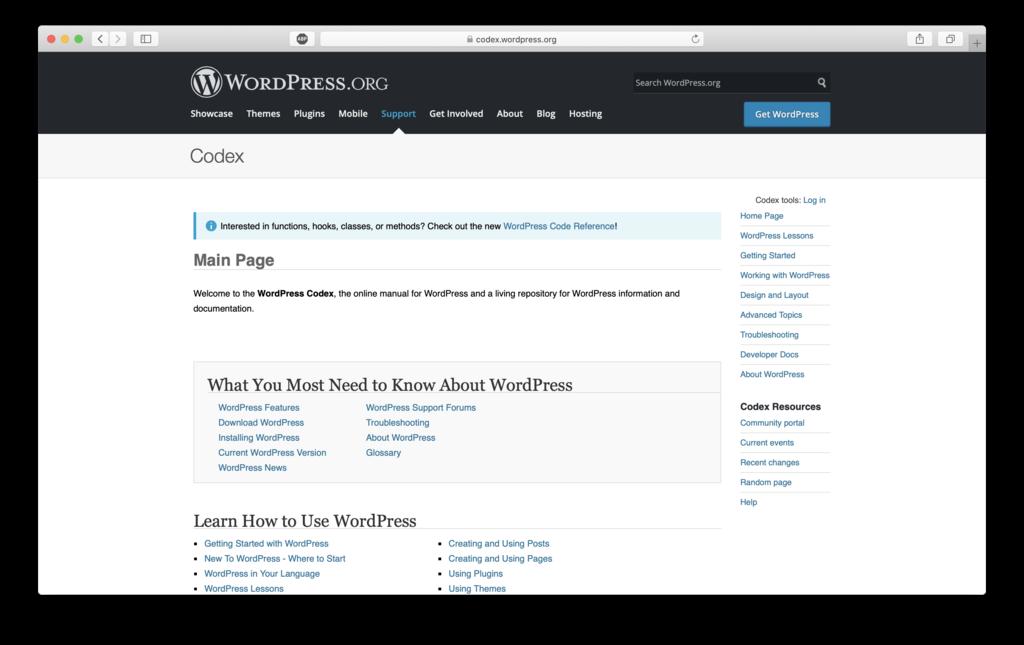 wordpress.org wordpress tutoria site