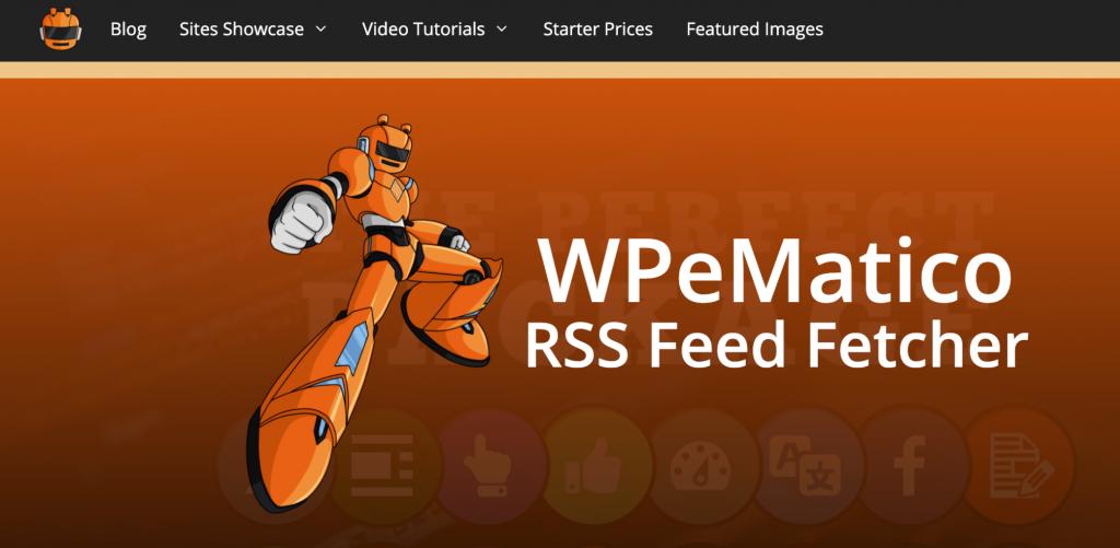 WPeMatico Rss Feed Fetcher Plugin