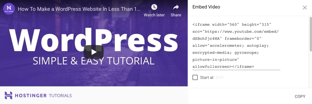 How to Embed Video in WordPress (with examples)