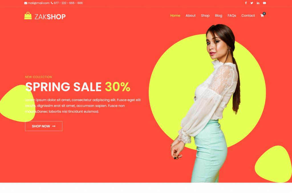 Zakra WordPress eCommerce Theme