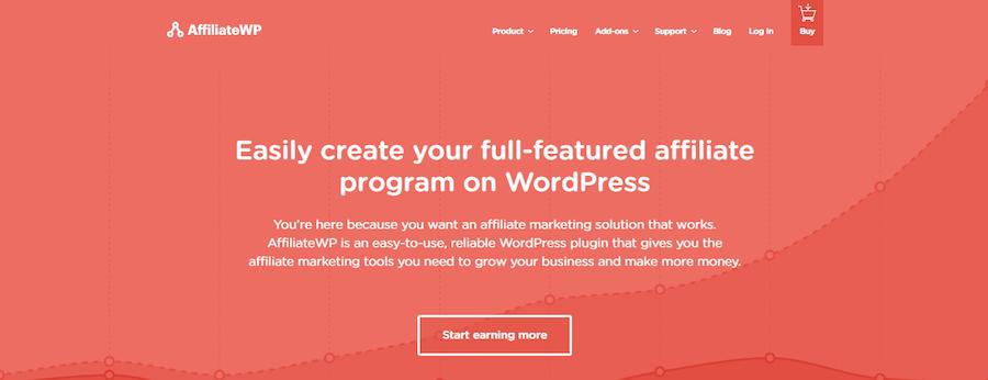 AffiliateWP wordpress affiliate plugin