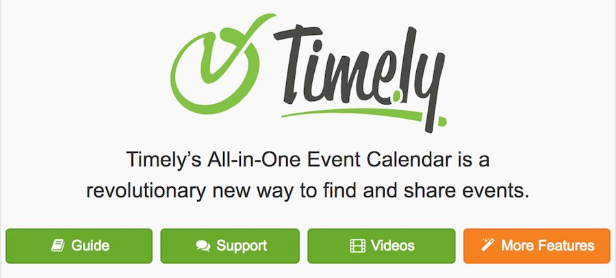 All-in-One Event Calendar plugin