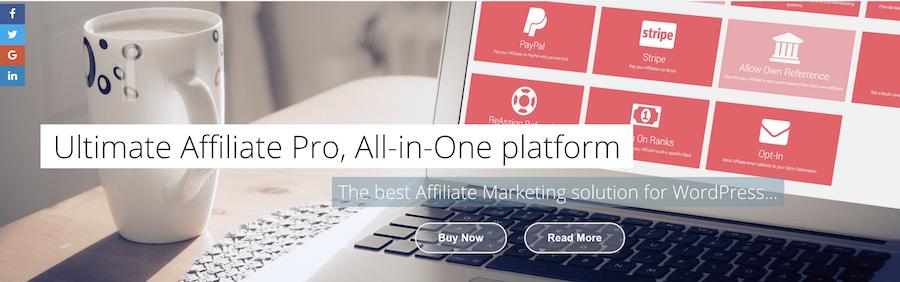 Ultimate Affiliate Pro wordpress affiliate plugin