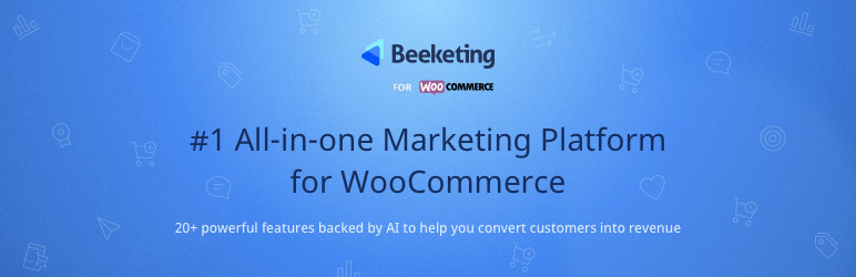 Beeketing WooCommerce Plugin logo.