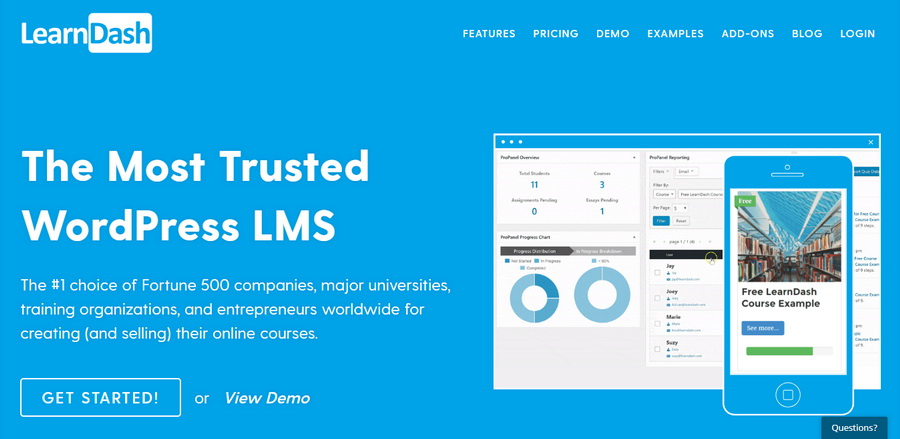 Learn Dash LMS Plugin